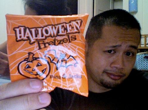 Halloween pretzels?  Really?