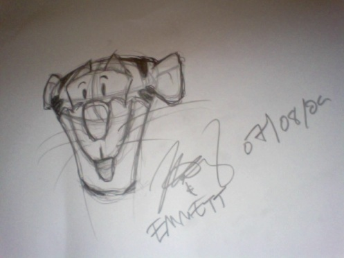 This is our rendition of Tigger